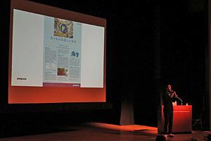 7月4日、長崎県佐世保市で開かれたシンポジウム「石木ダムの真実」