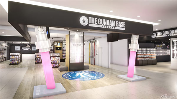 THE GUNDAM BASE FUKUOKA外観イメージ