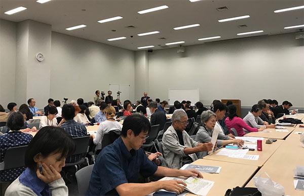 勉強会の様子(2019.10.15筆者撮影)
